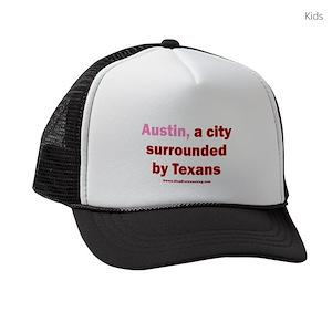 6146b0a83 Austin V Texans Kids Trucker hat