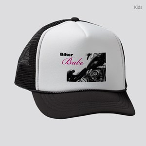Biker Babe Kids Trucker hat