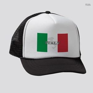 i-flag-extra Kids Trucker hat