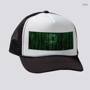 All Your Bytes Are Belong To Us Kids Trucker hat