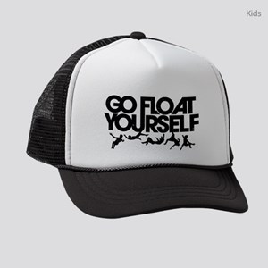 The 100 Go Float Yourself Kids Trucker hat
