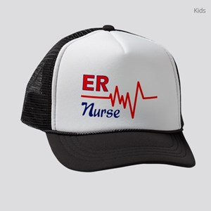 ER Nurse Kids Trucker hat