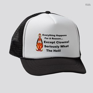 Everything Happens for a Reason Kids Trucker hat