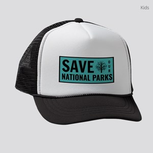 Save Our National Parks Kids Trucker hat