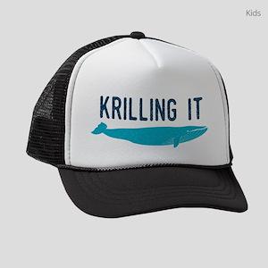 72a739a57747f Killing Kids Trucker Hats - CafePress