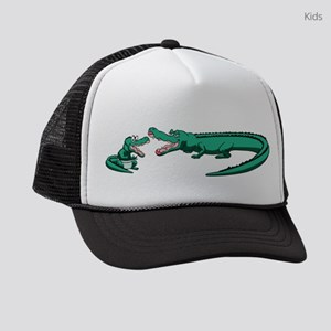 Alligator Family Kids Trucker hat