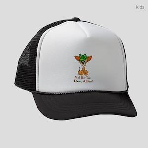 Irish Chihuahua Kids Trucker hat