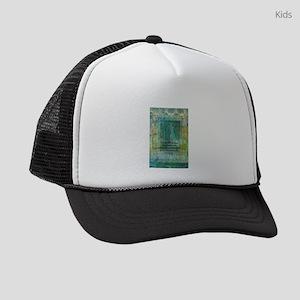 Buddha quote art Kids Trucker hat