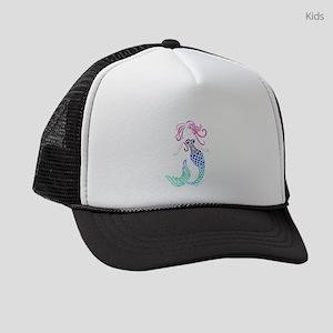 Tribal Mystic Mermaid Kids Trucker hat