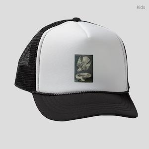 Gyrfalcon art Kids Trucker hat