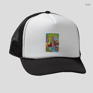 Vision Medellin Colombia Kids Trucker hat