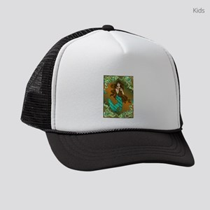 Best Seller Merrow Mermaid Kids Trucker hat