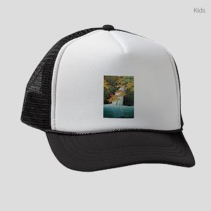 Senju Waterfall, Akame - Kawase H Kids Trucker hat