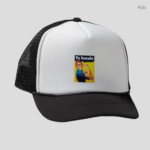 Va Fanculo Kids Trucker hat