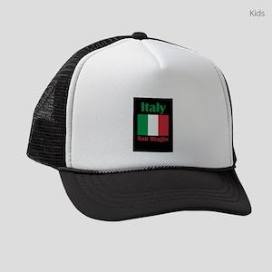 San Biagio Italy Kids Trucker hat
