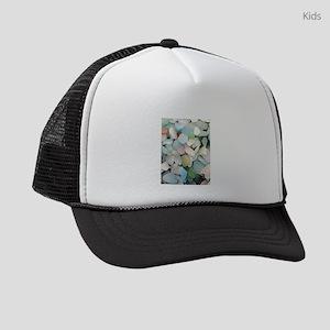 Sea glass Kids Trucker hat