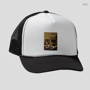 Happy Birthday Pug Kids Trucker hat