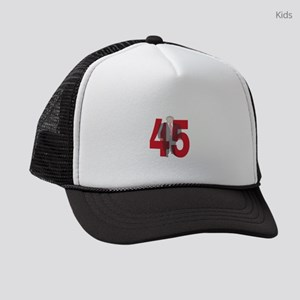 TRUMP 45th PRESIDENT Kids Trucker hat