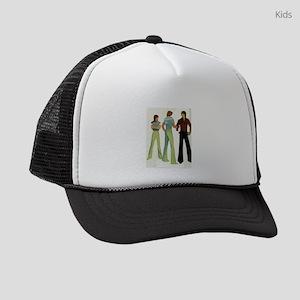 1970s vintage men Kids Trucker hat