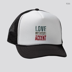 Love Your Accent Kids Trucker hat