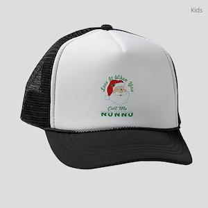 Love It When You Call Me Nonno Sa Kids Trucker hat