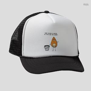 Vegan Milk Kids Trucker hat