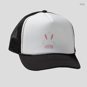 Happy Easter Egg Hunt Festival Ho Kids Trucker hat