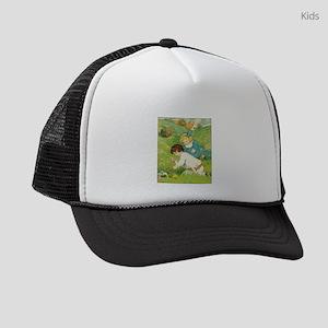 Vintage Easter Egg Hunt Kids Trucker hat