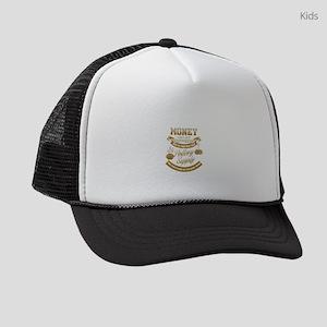 Money Can't Buy Happiness Pot Kids Trucker hat