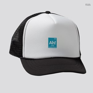 Ah the Element of suprise Kids Trucker hat