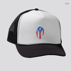 Puerto Rico Kids Trucker hat