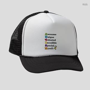 Autism Acronym Kids Trucker hat