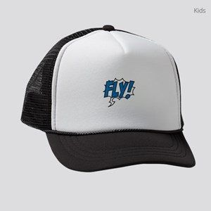 Live, love, fly Kids Trucker hat
