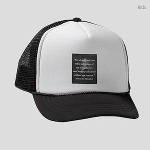 Hamilton - Taken Advantage Kids Trucker hat