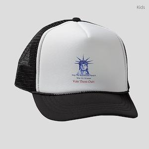 Stop Republicans War On Women Kids Trucker hat