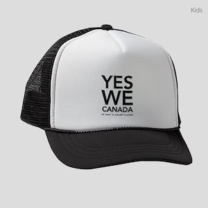 Yes We Canada Kids Trucker hat