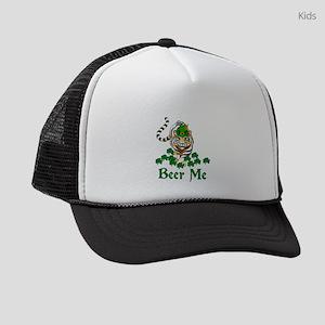 Beer Me Tiger Kids Trucker hat