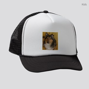 shetland sheepdog Kids Trucker hat