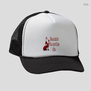SANTA'S FAVORITE HO Kids Trucker hat