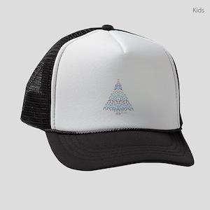 Marine Christmas Tree Kids Trucker hat