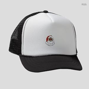 black santa claus Kids Trucker hat