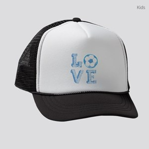 Love Soccer Kids Trucker hat