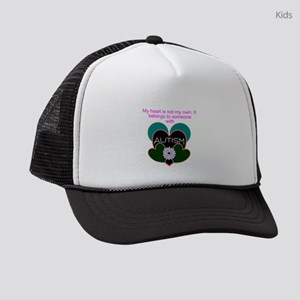 autisms heart Kids Trucker hat