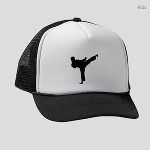 Karate Kicker Kids Trucker hat