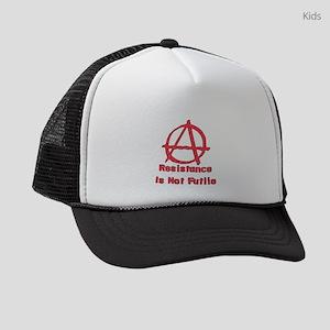 Resistance Is Not Futile Kids Trucker hat