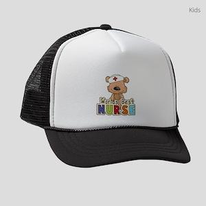 The World's Best Nurse Kids Trucker hat