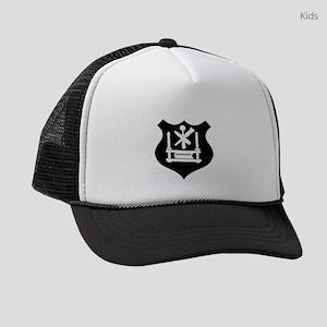guild symbol printer Kids Trucker hat
