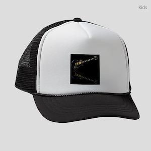 Black Beauty Electric Guitar Kids Trucker hat