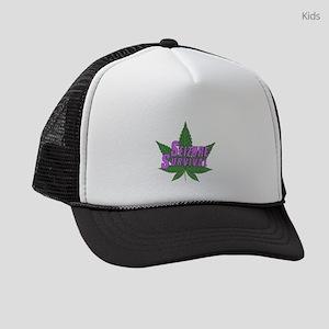 Seizure Survival with Cannabis Kids Trucker hat