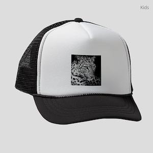 White Leopard Kids Trucker hat